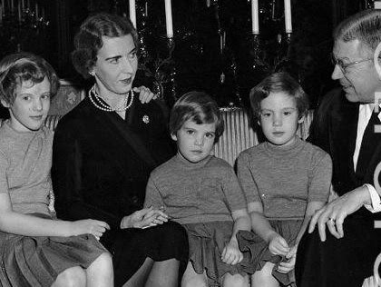 Ana-María de Dinamarca, reina de Grecia. D34