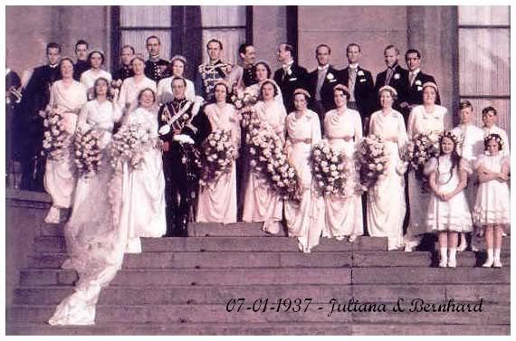 Novias Reales de Ayer - Página 3 Nederland3juliana-bernhard193713
