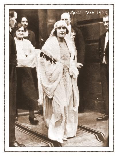 Novias Reales de Ayer - Página 3 26-04-1923princeAlbertLadyelisab-2