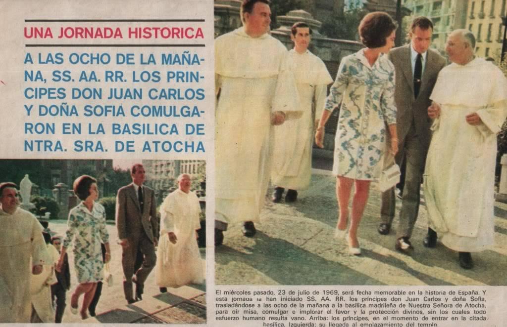 JUAN CARLOS PRINCIPE DE ESPAÑA 7-69001