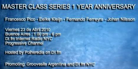 Fernando Ferreyra @ MasterClass Series Aniversary 23-04-2010 MasterClassSeries1YearAnnivpicture