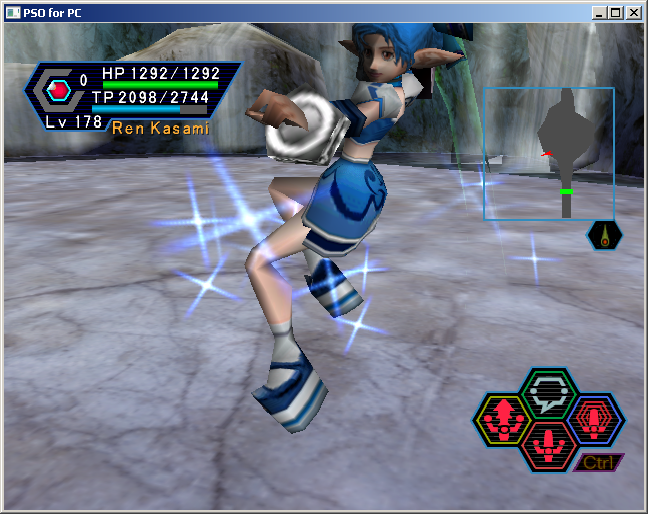 PSO PC/ V1&V2 Screenshot Gallery! - Page 5 FloatingPower