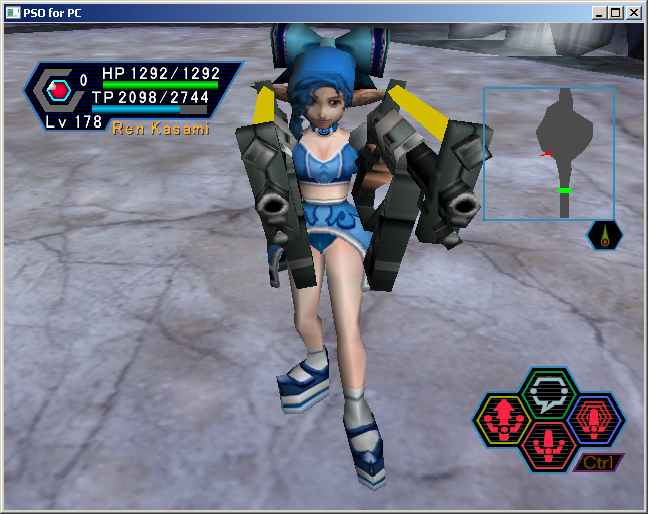 PSO PC/ V1&V2 Screenshot Gallery! - Page 5 MechBlast1