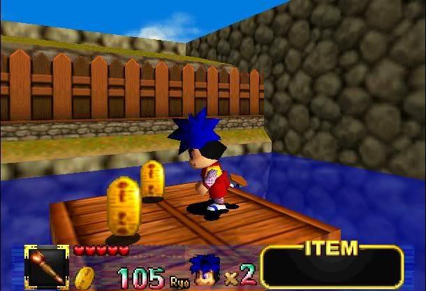 [Análise Retro Game] - Mystical Ninja Starring Goemon - Nintendo 64 Ryo