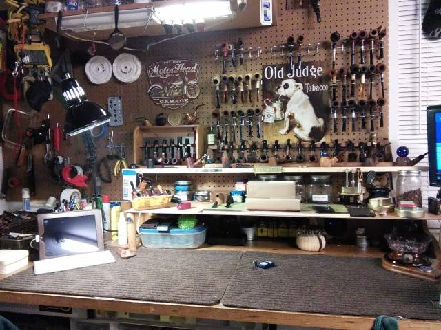 LET'S SEE PICS OF YOUR PIPE WORK BENCH IMG_20140203_202935_zpse7c21db0