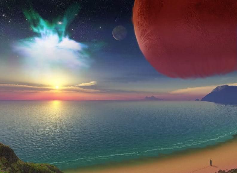 La ciudad de la luna roja