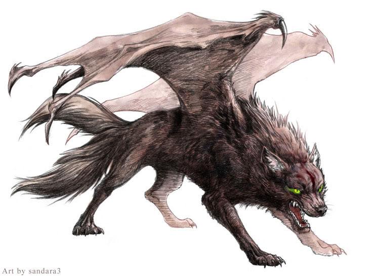 Secret Underground Lab Demonwolf
