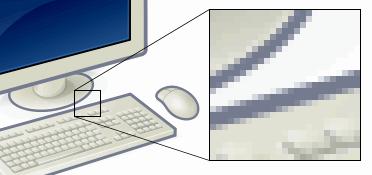 مقدمة في أنظمة الألوان [Video101] Pixel-example