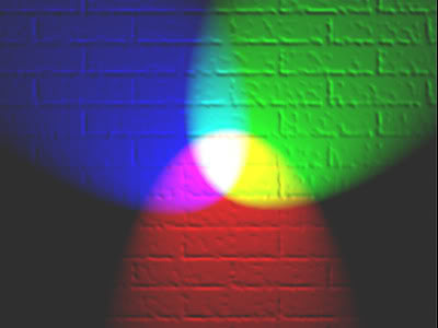 مقدمة في أنظمة الألوان [Video101] RGB_illumination