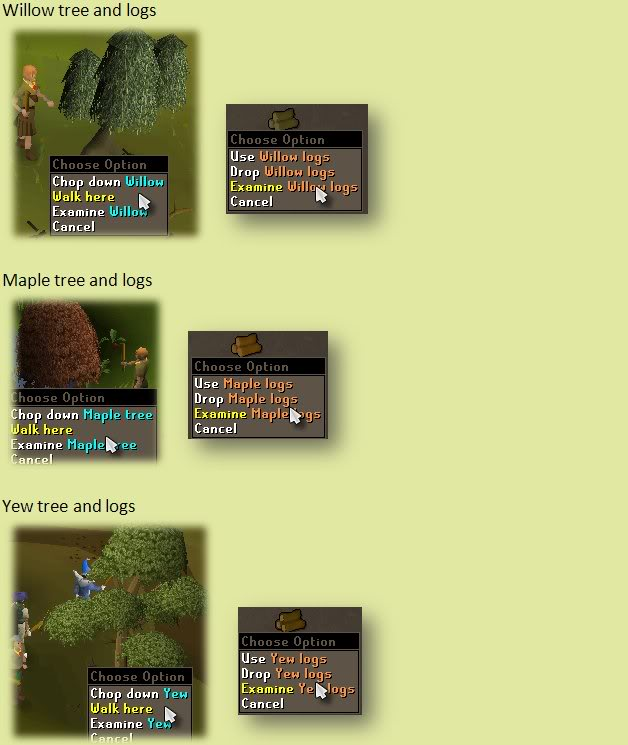 Woodcutting Guide and firemaking guide! Fm3-1