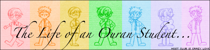 The Life of an Ouran Student