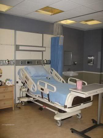 Quartos de Hospital Simples ForksCommunityHospital2