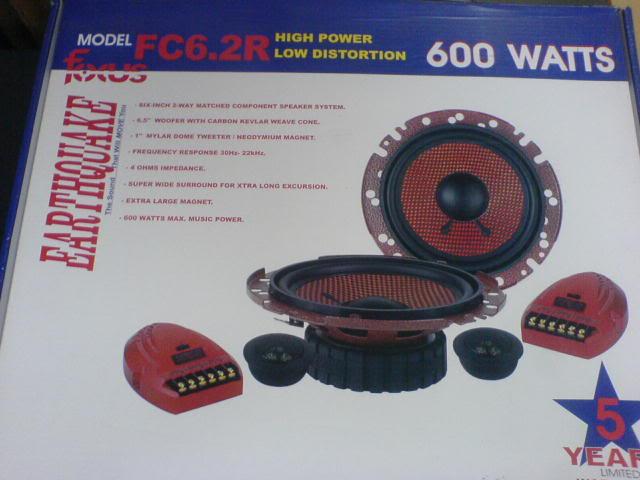 WTS: Lots of stuffs (cerwin-vega, autotek & oris sold) EarthquakeFC62R