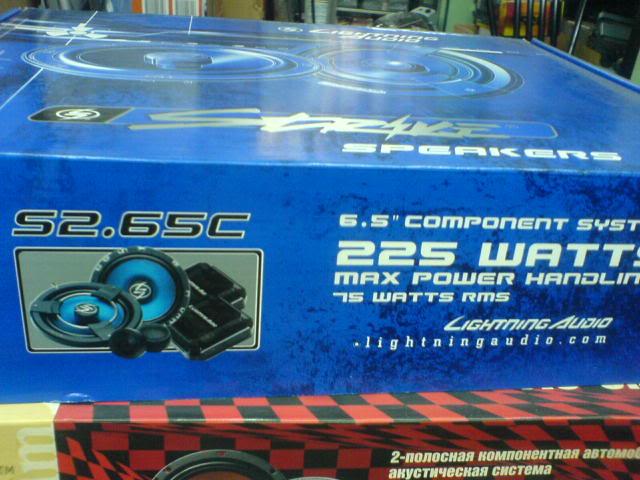 WTS: Lots of stuffs (cerwin-vega, autotek & oris sold) LightningAudioS265C
