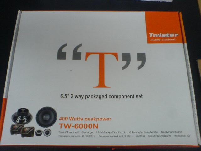 WTS: Lots of stuffs (cerwin-vega, autotek & oris sold) TwisterTW-6000N