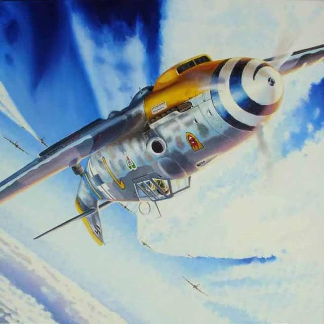 Hasegawa 1/48 Messerschmitt 109 G-6 III/ JG-54 - Página 3 Battle_over_the_Reich