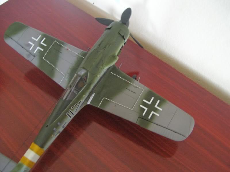 Tamiya 1/48 Focke Wulf 190 D-9 JG-2 Richtofen DORA10
