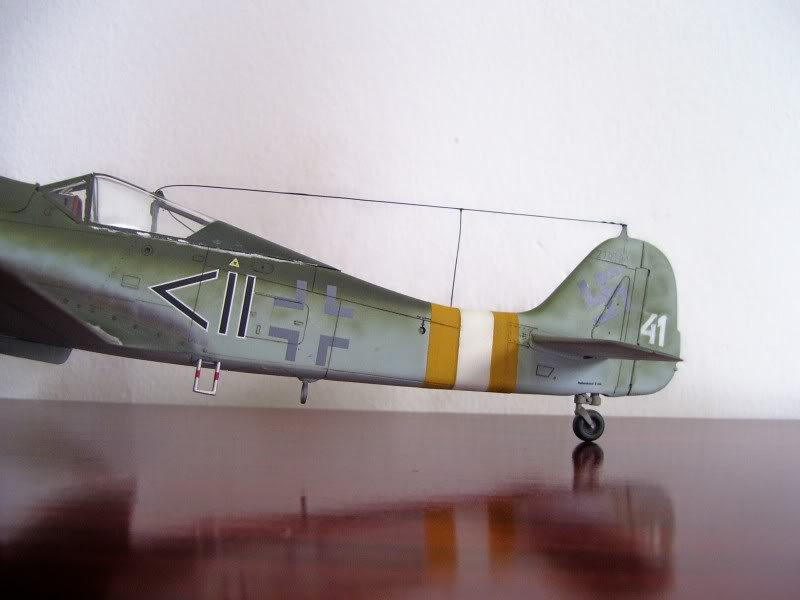 Tamiya 1/48 Focke Wulf 190 D-9 JG-2 Richtofen DORA3