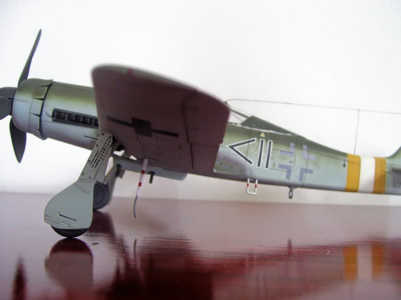 Tamiya 1/48 Focke Wulf 190 D-9 JG-2 Richtofen DORA4