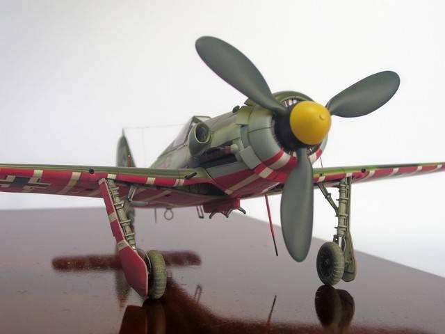 Focke Wulf 190 D-11, Revell 1/48 (Molde de Trimaster). FW190D-11Terminado%2025_zps0navrus7