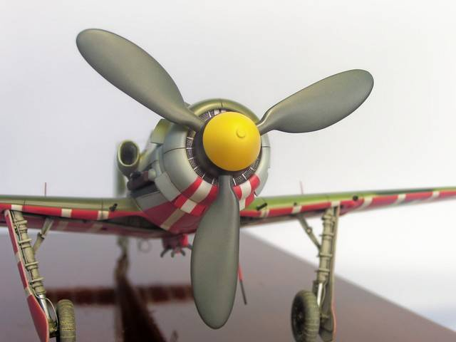 Focke Wulf 190 D-11, Revell 1/48 (Molde de Trimaster). FW190D-11Terminado%2027_zpsv0abqf54