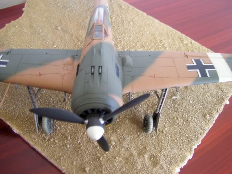 Hasegawa 1/48 Focke Wulf 190 A-4 Erich Rudorffer Norte de A. FockeWulf190A4NortedeAfrica4