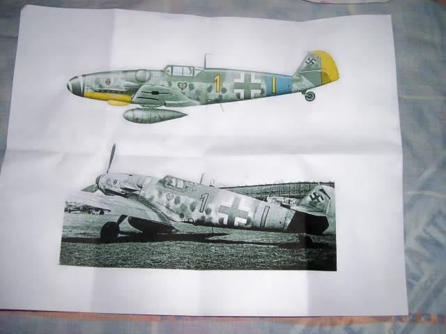 Hasegawa 1/48 Messerschmitt 109 G-6 III/ JG-54 - Página 3 Fotodehoy5