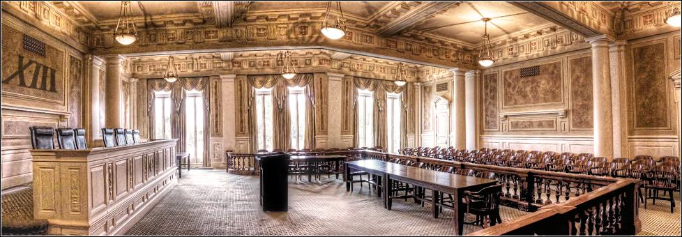 Gotei XIII Supreme Court Courtroom