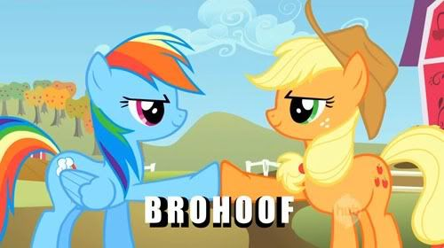 Pony Thread Brohoof