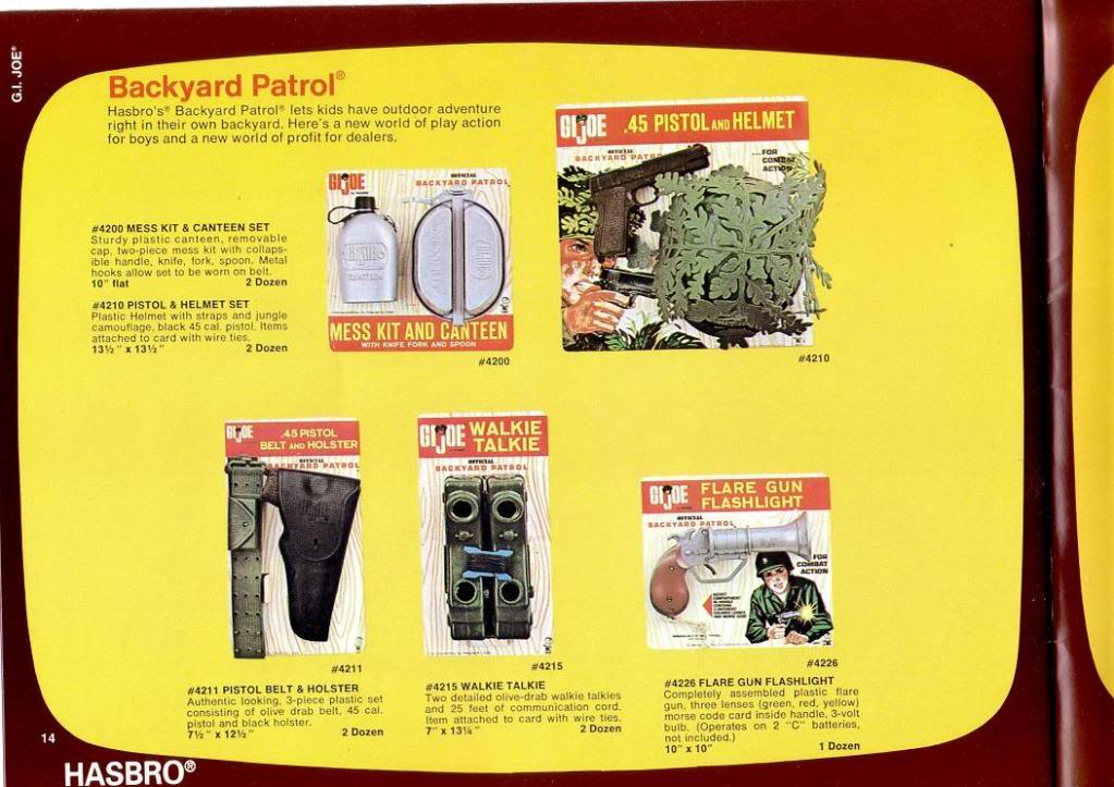 GI JOE: 1968 TRADE CATALOGUE 1968TradeCatalogue13
