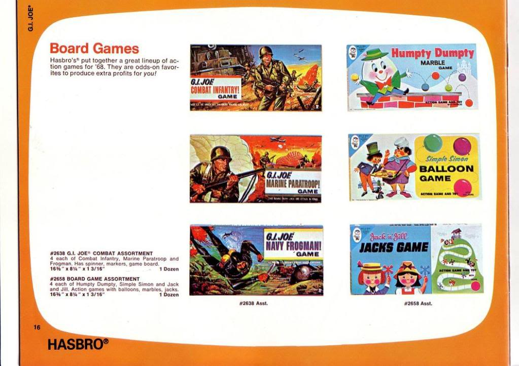 GI JOE: 1968 TRADE CATALOGUE 1968TradeCatalogue15