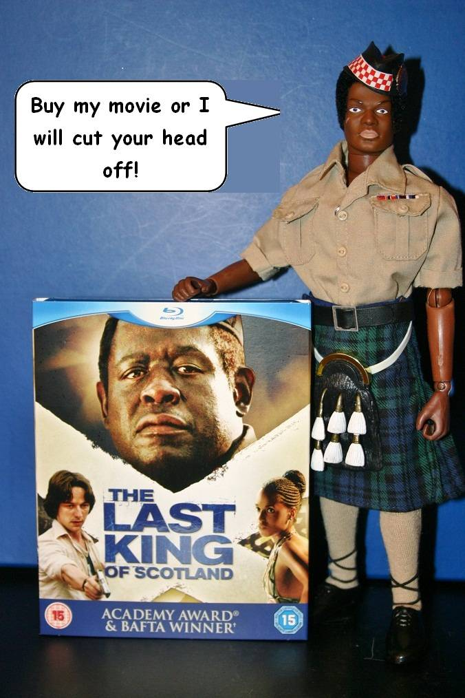 Kitbash: General Idi Amin Dada - The Last King of Scotland IMG_9363