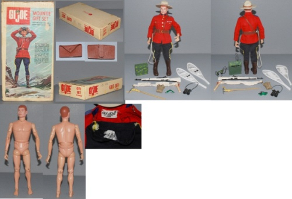 GI Joe Mountie Gift Set SearsMountie