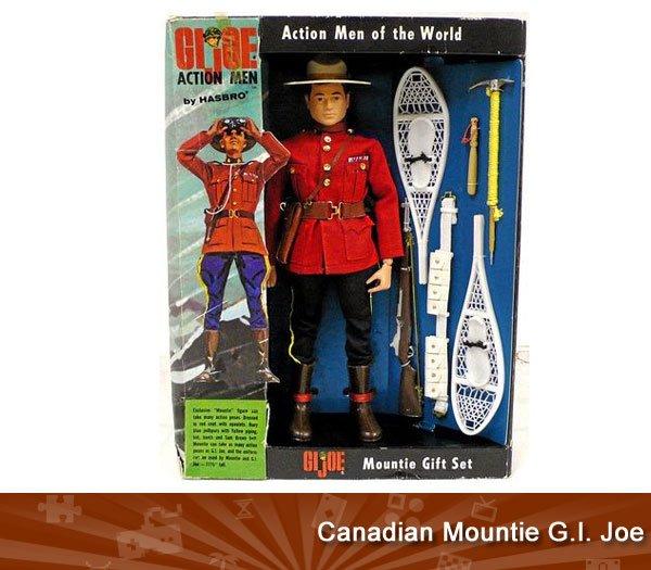 GI Joe Mountie Gift Set Rare-actionfigures-gijoemountie_203155