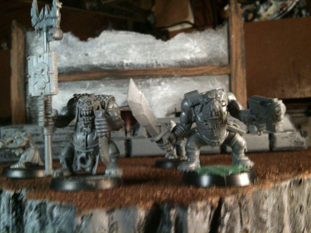 Rhuntars IG and Orks 76984296