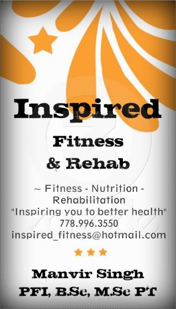 Contact Me for Physio & Health Rehab Services Front