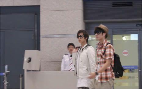 Young Saeng y Kyu Jong - Aeropuerto de Gimpo volviendo de Japon SK_incheon006