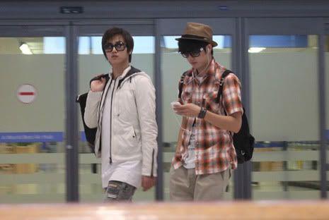 Young Saeng y Kyu Jong - Aeropuerto de Gimpo volviendo de Japon SK_incheon008