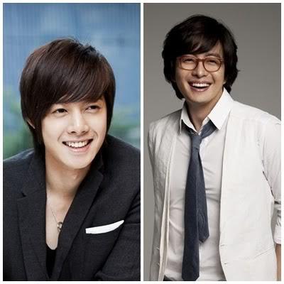 Kim Hyun Joong y Bae Yong Joon en 'Proyecto Smile'16 Smile