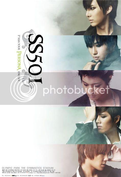 "SS501 ""1t Asia Tour Persona Encore"" Concierto en Seul - Poster Promocional. 2010012607424326463_1"