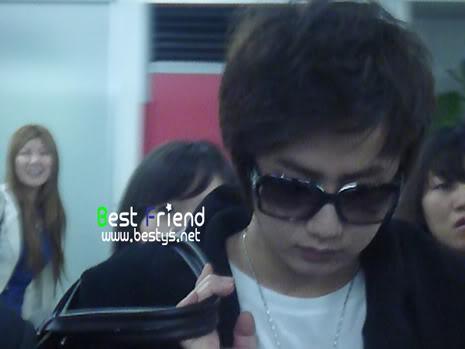 """Young Saeng en el Haneda Airport para el evento por el drama KNTV """"Will it snow on Christmas"""" (Best Friend) YS_haneda006"""