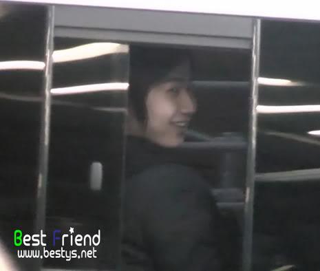 """Young Saeng en el Haneda Airport para el evento por el drama KNTV """"Will it snow on Christmas"""" (Best Friend) YS_haneda010"""