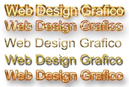 35 styles de ouro - Photoshop 35stylesdeOuro