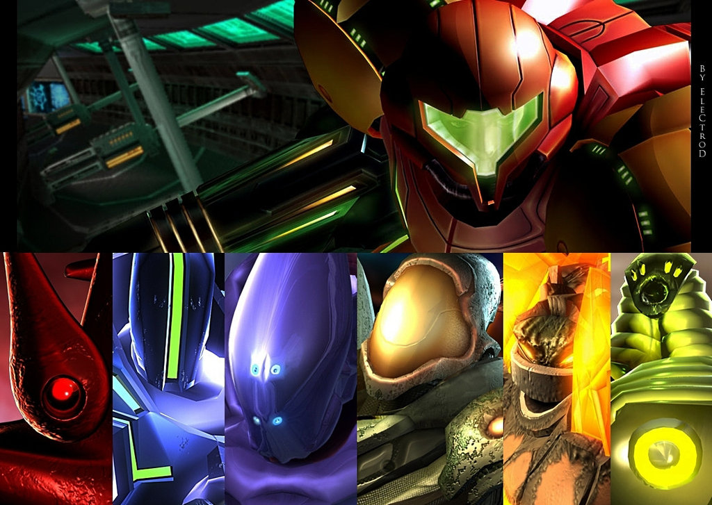 PPV's Basic Guide to Metroid Prime Hunters Metroid_Prime_Hunters_by_el3ctrod