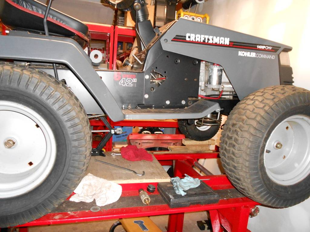 Been lurking awhile, first post with new project. Lifted Craftsman! DSCN0043_zps2010b6da