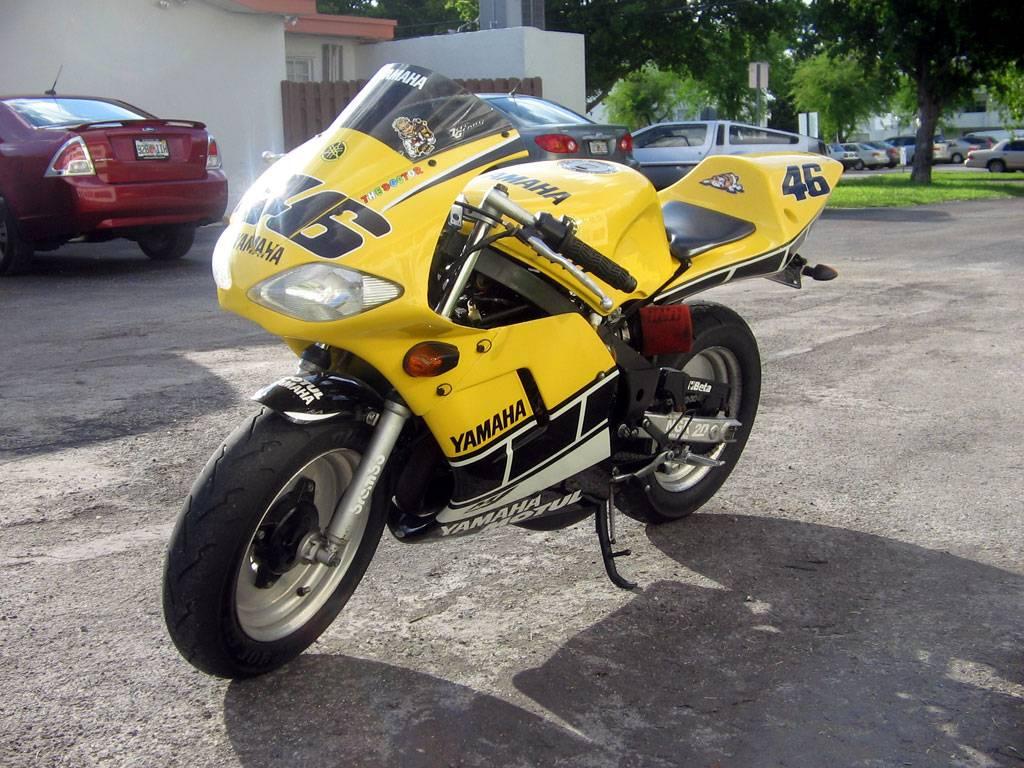 Rossi Replica Yamaha YSR with 200cc Blaster swap Rossireplica001