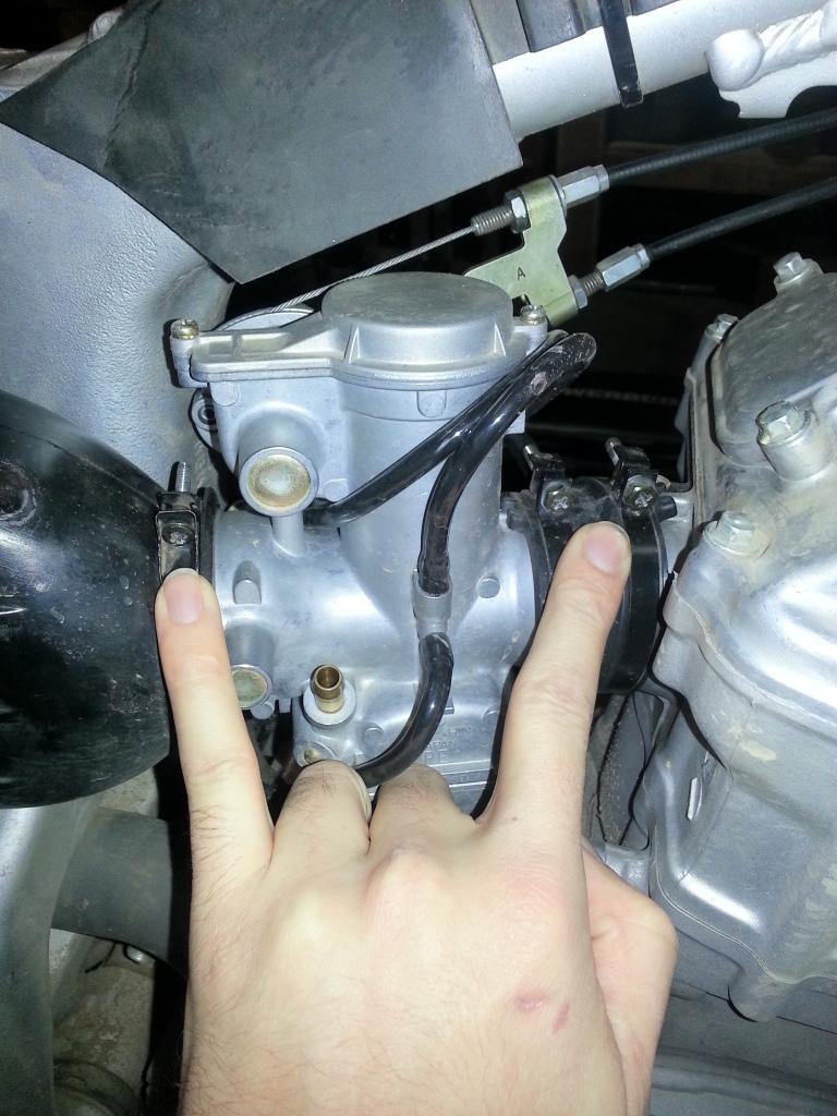 Complete XRR Re-Jetting Procedure 20121223_170752