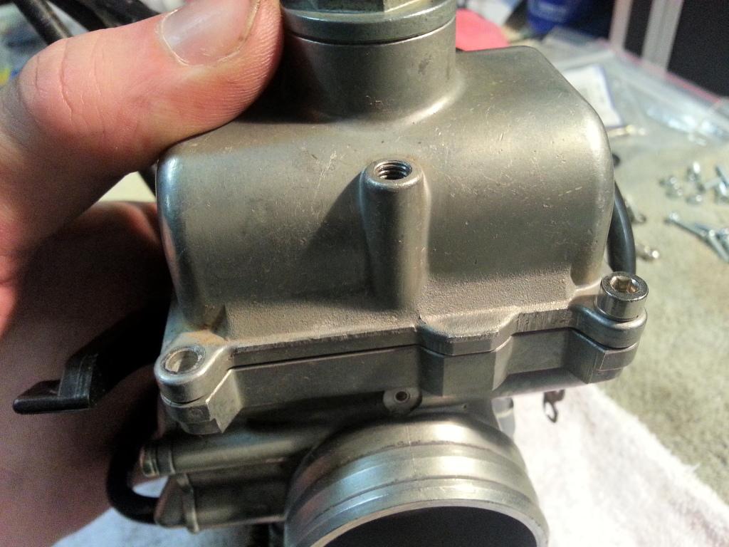 Complete XRR Re-Jetting Procedure 20121223_180616