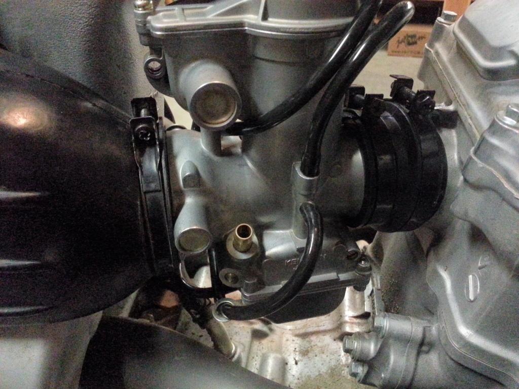 Complete XRR Re-Jetting Procedure 20121223_185048