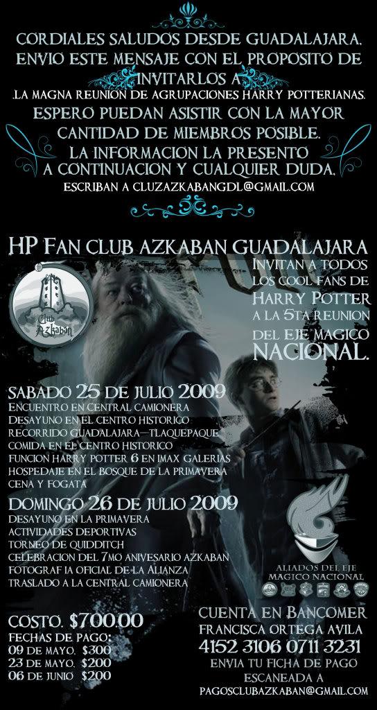 5ta REUNIÓN NACIONAL HARRY POTTER 2009 HP3RL